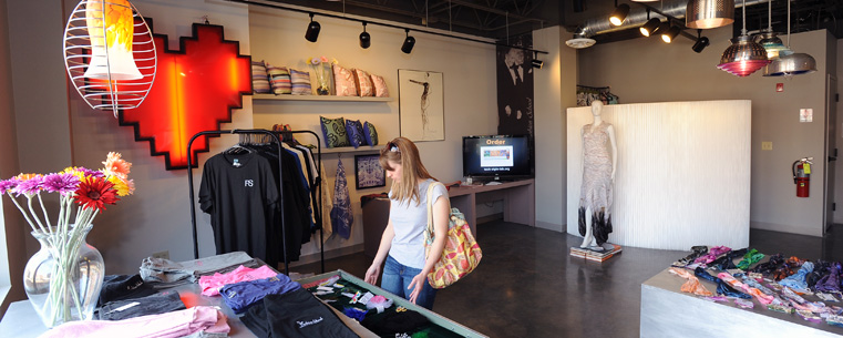 The Fashion School Store Is Located In Acorn Alley II In Downtown Kent, Ohio ,