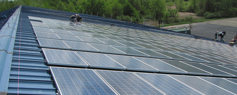 Soaking Up the Sun: Kent State's First Renewable Energy Project on