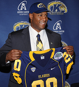 buy online eac89 cb0cb Paul Haynes Returns to Kent State as Head Coach
